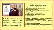 Ф. Г. Углов занесён в Книгу рекордов Гиннесса